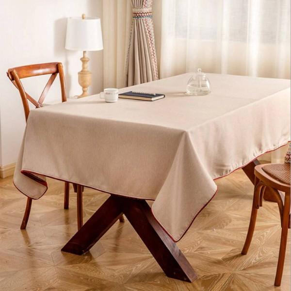 Tovaglie solide di lusso Toalha De Mesa Prodotti per la pulizia della casa Tovaglia Accetta mantelle personalizzate Para Mesa, Coprisedili