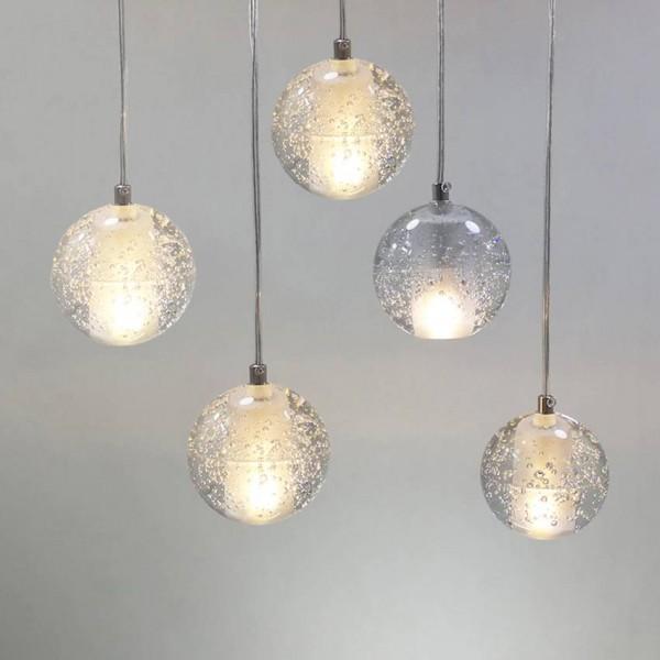 Lusso Moderna lampada a sospensione per sala da pranzo G4 ...