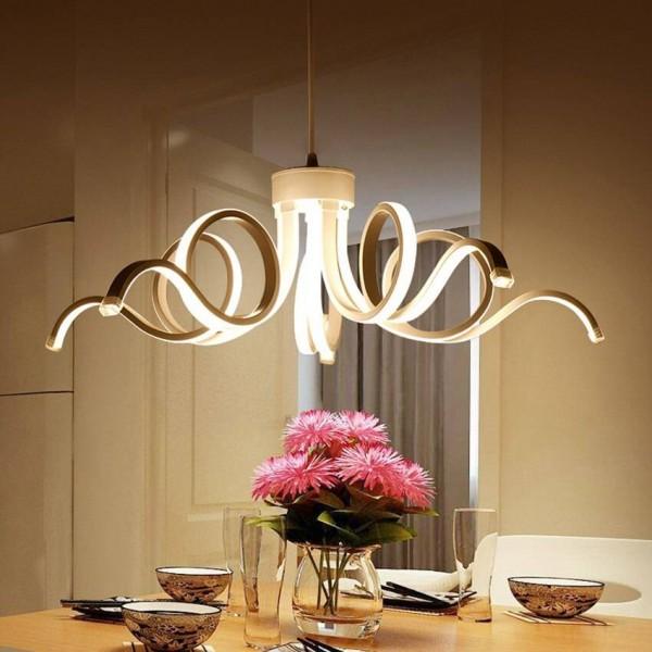 Lusso Moderna lampada a sospensione a led per soggiorno ...