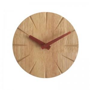 15cm Creativo orologio da parete in legno massello personalità soggiorno semplice orologio moderno fai da te ultra silenzioso camera da letto piccolo orologio da parete