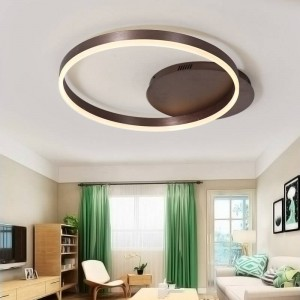 219 Modern Kids room plafoniere a led per camera da letto con lampade a sospensione lamparas de techo telecomandate