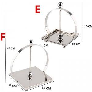 Porta carta igienica SLIVRE in acciaio inossidabile 304 Accessori per il bagno Porta carta velina da cucina