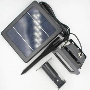 3 Combo ricaricabile a led a luce di inondazione Lampada del proiettore Lampada impermeabile a luce solare Lampada da parete per esterni Luce spot di sicurezza