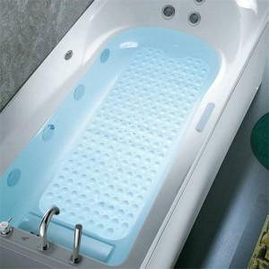 Tappeto per vasca antiscivolo per vasca da bagno con tappetino da massaggio antiscivolo per bagno con doccia in PVC 40x100cm