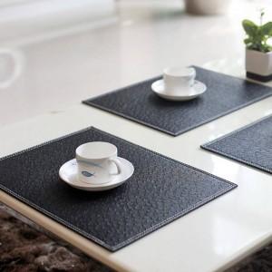 4 Pz / lotto Europeo Sottobicchieri Tovaglietta Isolamento termico Stoviglie PVC Decor Cucina Dinning Bowl Dish Impermeabile Pad Mat