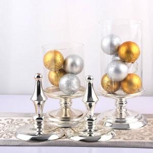 Vaso per caramelle in vetro alto 50 cm. Stoccaggio in metallo europeo di alta qualità può bottiglia per la conservazione degli alimenti