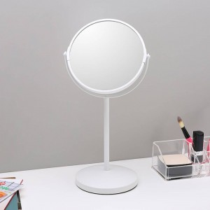 Specchio per trucco da 6,5 pollici desktop semplice Specchio decorativo specchio bifacciale specchio ingrandimento specchiera wx8161450