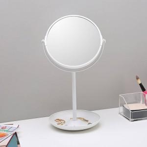Specchio decorativo da 6,5 pollici semplice specchio a specchio bifacciale specchio da toeletta desktop specchio decorativo a doppio strato wx8161509
