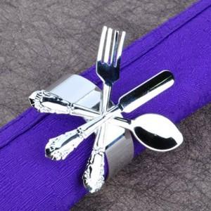 6pcs portatovaglioli set porta forma portatovaglioli cena banchetto anello squisito hotel ristorante dedicato tovagliolo di stoffa bocca