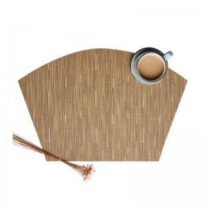 6 pz / set a forma di ventaglio tavolo da disegno in pvc isolamento pad tappetino antiscivolo accessori per la cucina decorazione casa pad sottobicchieri tovagliette