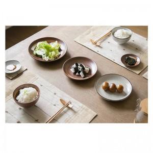 7 pz / set stile giapponese promozione ceramica procelain set da tavola BLU SET DI TAVOLA INCLUDONO PIATTO DI CIOTOLA 7 pezzi amanti set da pranzo