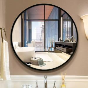 A1 Specchio per bagno wc specchio da parete in stile circolare da parete camera da letto soggiorno wc specchio per il trucco wx8221848