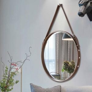 A1 Belt specchio da bagno appeso a parete specchio decorativo specchio da bagno per hotel ristorante wall art specchio rotondo appeso wx8281346