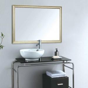 Specchio bagno europeo A1 bordo stretto appeso a parete portico soggiorno specchio da trucco wx8221449