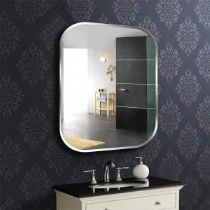 A1 Frameless quadrato specchio da parete per bagno wc specchiera per lavabo specchio per specchio camera da letto appeso a parete specchio in vetro wx8230936