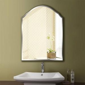 A1 Semplice specchio da bagno senza cornice appeso a parete bagno wc specchio da trucco per trucco wx8231035