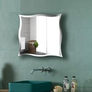 A1 Specchio da parete senza cornice per bagno specchio da toilette personalizzato adesivi murali specchio da trucco specchio wx8231015