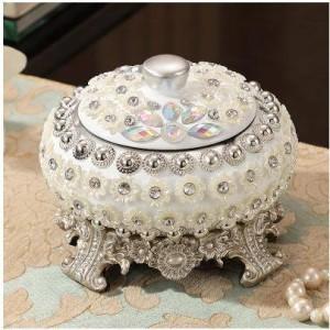 Posacenere in resina avanzato, bellissimo motivo a perla, forniture per ufficio a casa