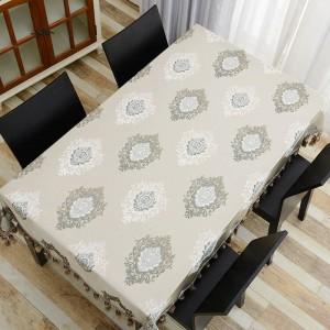 Tovaglia ricamata di design straordinario Design elegante e raffinato di nappa Toalha De Mesa Euro Tovaglia Royal Tavolo da pranzo