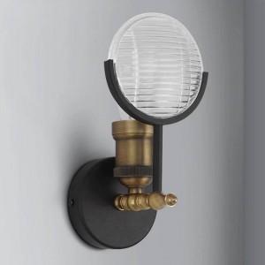 Applique da parete retrò creativo americano Forma di luce classica per auto Applique da parete industriale Lampada da comodino per camera da letto Apparecchi di illuminazione per corridoi