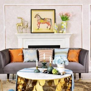Decorazione di lusso americano portacandele a sfera in marmo Decorazione Campione Tavolo da casa Candeliere Ornamento Regalo Gaiolas Decorativas