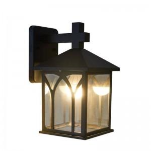 Lampade da parete a LED in stile americano E27 Lampade da parete per soggiorno Decorazione camera da letto Lampada da comodino in ferro con illuminazione a LED in vetro
