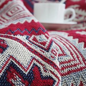 American Sumino Coperta da tiro Decorazioni natalizie Cobertor rosso Manta Para Divano / Letti Plaid da viaggio Coperte antiscivolo