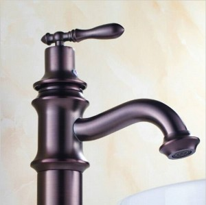 Rubinetto miscelatore rubinetto in ottone antico olio bronzo lucidato 9023O