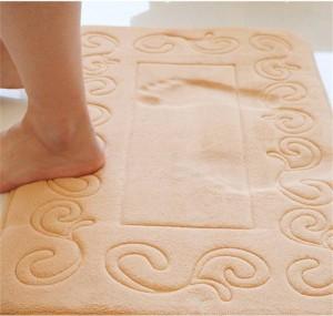 Tappeto antiscivolo per bagno Tappeto in spugna a rimbalzo lento stile europeo Cuscino WC per bagno Tappeto assorbente per zerbino memory foam