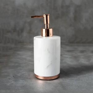 set da bagno 5 pezzi portaspazzolino Ceramica in marmo di alta qualità Tazza da bagno Forniture per bagno