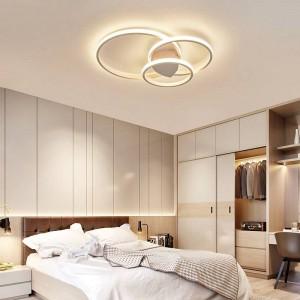 Plafoniere per soggiorno camera da letto Lampada da soffitto moderna a LED avize Lampada da soffitto moderna a LED con telecomando