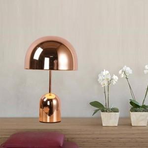 Lampada da tavolo moderna post nordica lampada da scrivania in metallo creativo Lampada da lettura E27 Lampada a LED Studio soggiorno decorazione della casa d'arte