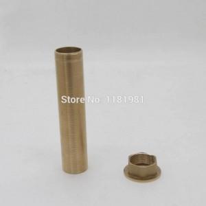 Il rubinetto da bagno in materiale d'ottone di alta qualità installa le parti assembla il rubinetto del dado monta installa le parti 15CMXS10