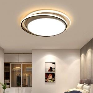 Plafoniere per soggiorno lamparas de techo colgante moderna Plafoniera a LED Dimmerabile con telecomando