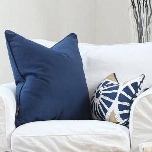 Fodera per cuscino americano di lusso di lusso Art Bohemia Circle Solido addensare decorativo copriletto Cuscini Cojines Coussin Almofada