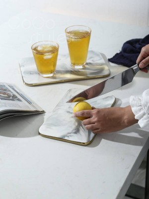 InsFashion tagliere per pane o frutta in ceramica modello meraviglioso o vassoio da portata per uso kichen in stile francese