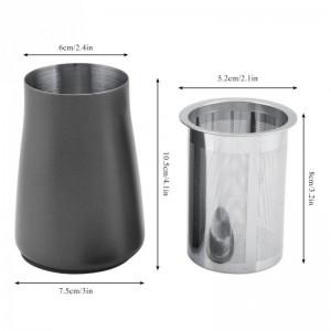 Accessori per macinacaffè setaccio per caffè setaccio polvere polvere maglia 304 filtro in acciaio inox tazza di caffè in polvere profumo