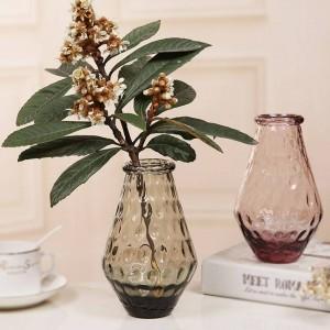 Decorazione variopinta della festa nuziale della decorazione domestica della casa del vaso di fiore del vaso di vetro di cristallo variopinto