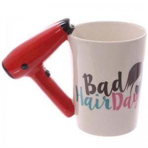 Creativo 3D dipinto a mano tazza di ceramica asciugacapelli maniglia della tazza di caffè tazza tazze di ceramica utilizzate per contenere acqua latte caffè ecc