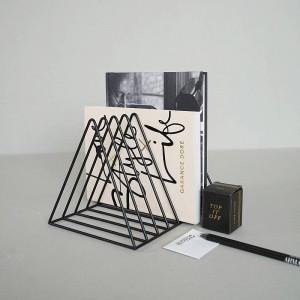 Tappo dello scaffale dell'organizzatore della rivista di Bookstop Magazine dell'organizzatore creativo della fine del libro
