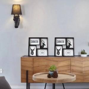 Cornice per foto creativa 4 Set da 6 pollici tavolo da parete combinazione di foto per uso combinato per unire pezzo di foto in stile americano