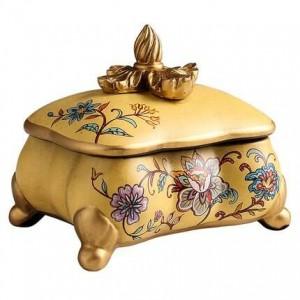 Regalo di compleanno dell'esposizione creativa delle decorazioni del salone della casa della scatola decorativa di stoccaggio dei gioielli