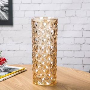 Vaso di cristallo europeo Vaso grande europeo Decorazioni per la casa