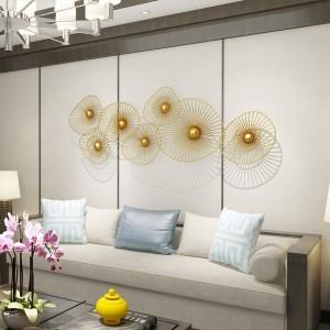 Nuova decorazione di lusso leggera su ordinazione della parete Parete domestica creativa che appende Sofa Background Decoration