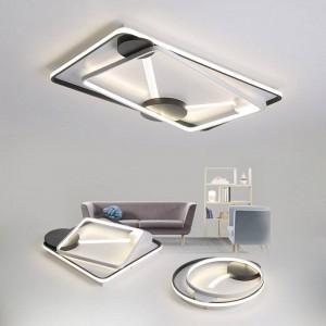Le lampade da soffitto a LED dimmerano in stile moderno per soggiorno studio camera da letto decorativo paralume lampada da soffitto lamparas de techo