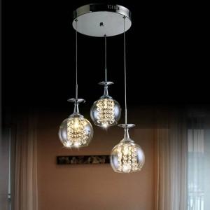 sala da pranzo lampada a sospensione in vetro appeso camera da letto matrimoniale già bicchiere di vino lampada a sospensione in cristallo led lampara Bar cucina luce interna