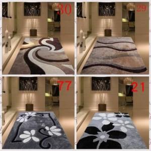 Ispessimento crittografato luminoso seta salotto tavolino camera da letto comodino tappeto semplice modello moderno in stile nordico