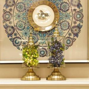 Vaso di vetro creativo europeo Beauty Home Decoration Serbatoio Decorazione pratica Model Room Decoration