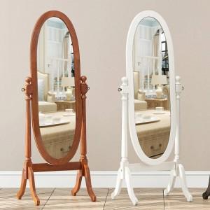 Specchio da camera da letto in stile europeo pavimento completo specchio mobile verticale soggiorno specchio decorativo intagliato principessa wx8241420