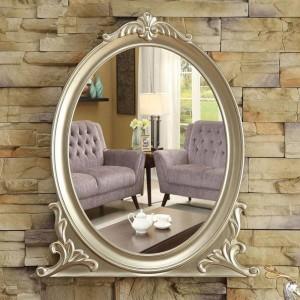 Specchio da parete europeo bagno specchio da bagno specchio da trucco decorazione portico camera da letto specchio da trucco wx8231352